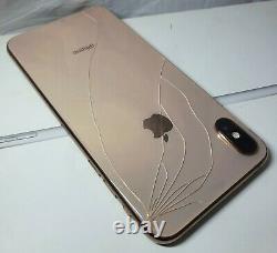 Mauvais Fmi-on List-clean Cracked Apple Iphone Xs Max A1921 Or Verizon Cdma Gsm