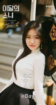 Mensuel Fille Loona Hyunjin Single Album CD + Livret + Photocard K-pop Scellé