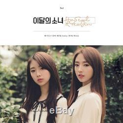Mensuel Gril Loona Haseul & Yeojin CD Simple + Livret + Carte Photo K-pop