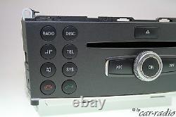 Mercedes Originale W204 Radio Mp3 Zb Bedienteil Headunit C-klasse X204 Glk-klasse