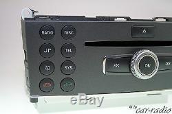 Mercedes W204 Originale Radio Mp3 Zb Bedienteil Headunit C-klasse X204 Glk-klasse