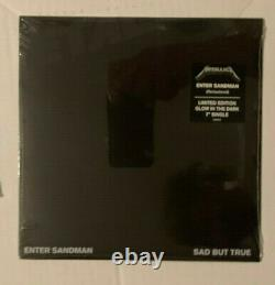 Metallica Enter Sandman Ltd Edition Glow Dark 7+cd+ Mini CD Bundle New Sealed