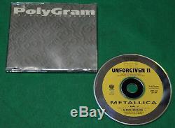 Metallica The Unforgiven II Brésil Seulement 2 Pistes CD Promo 1998