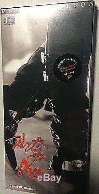 Michael Jackson Dirty Diana CD Mini Longbox 3 Pouces 21x9,5 Scellés Mint