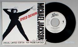 Michael Jackson Speed Demon (7 Single) (1989) Vinyl 45 Promo Import Mauvais
