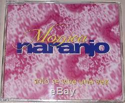 Monica Naranjo CD Single Solo Se Vive Una Vez Rarisimo Mexique