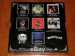 Motorhead Le Bronze Singles 1978-1981 Coffret 7 X 7 Jeu De Vinyle Ltd 1500 Copies! Nouveau