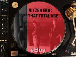 Nitzer Ebb Meurtrier (cet Âge Total) Rare 12 Picture Disc Promo Single Lp
