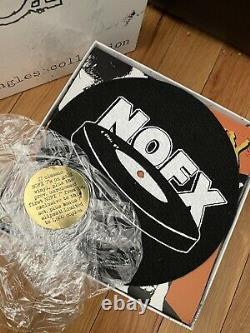 Nofx 126 Pouces De Nofx (singles Collection) Édition Spéciale Gold-color Vinyl