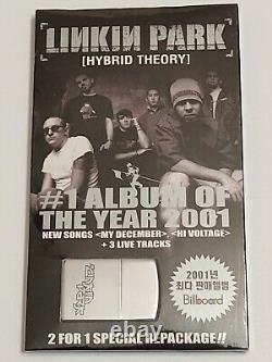 Nouveau 2 CD & Briquet! Linkin Park -hybrid Théorie (importer Avec Bonus Simple + Zippo)