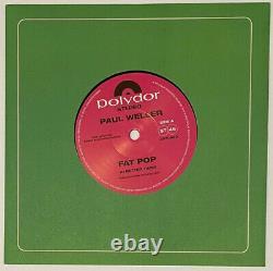Paul Weller Lp Fat Pop 2021 7 Boîte Set Audiophile 45rpm Single Set 1000 Made New