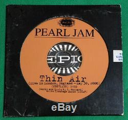 Pearl Jam Thin Air Brésil Seulement CD 2000 Epic Promo 899,934