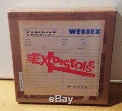 Pistols Sexuels N'offrez Jamais Les Bollocs Alternes Alternative Prend 7x7 Vinyl Box Rsd