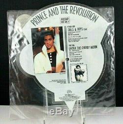 Prince Et La Révolution Girls & Boys, En Forme De Disque D'image, Paisley Park / Royaume-uni, 1986