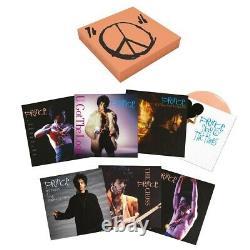 Prince Signe O ' The Times 7 Singles Box Set Color Disques Vinyle Sold Out Scellé
