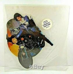 Prince & The Revolution Purple Rain, 7 Disques Illustrés En Forme (1984)