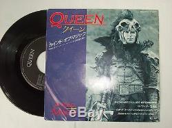 Queen A Kind Of Japan Magique Mega-rare 1986 Avec 7 Image Promo Manches Etc