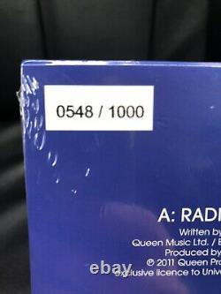 Queen Radio Ga Ga 2021 Blue Ltd 7 Single Roger Taylor 1000 Seulement! En Main
