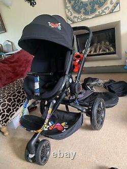 Quinny Moodd Britto Special Edition Black Poussette À Siège Simple Pushchair Baby