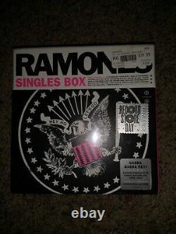 Ramones 7 Vinyl Singles Coffret 2017 Numéroté Rsd New Sealed
