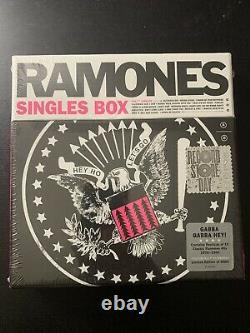 Ramones Singles Box Rsd 2017 Nouvelle Marque Scellée! Pas De Réserve
