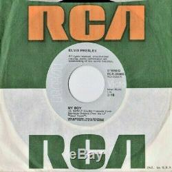 Roi Elvis Presley'74 My Boy / Lovin Arms 45 Us / Uk Mega Rare Slickvinylsleeve