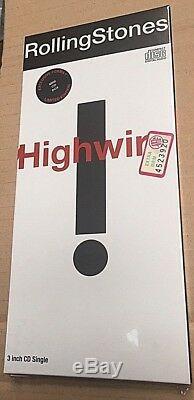 Rolling Stones Highwire CD Mini Longbox 3 Pouces 21x9,5 Scellés Mint