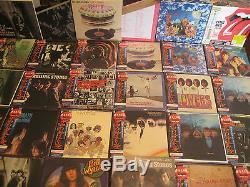 Rolling Stones Obi Replica Japan Complet 6 Coffrets Avec Singles & Rare Promo Box
