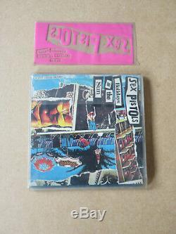 Sex Pistols Pistols Pack Virgin 1980 Uk 6 X 7 Vinyl Set En Plastique Wallet Sex1