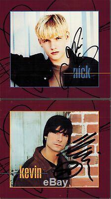 Signé Backstreet Boys Cartes Postales De Quit Playing Games CD 1997