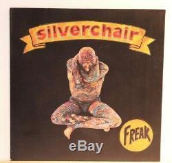 Silverchair Freakaustralian En Appuyant Sur 1997 Translucide Clair Vinyle Ex À N Mint