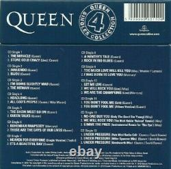 Singles Collection Reine 4 Cd. CD Limited Edition Box Set Marque Nouveau