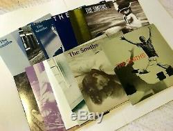 Singles Smiths Encadré 12 X 7 Vinyl Box Set & Withinsert Badges Brand New Scellés