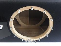Sous-boîte Portée Jl Audio 12w7 Ae Special Edition Avec Habillage De Port Plexi Noir