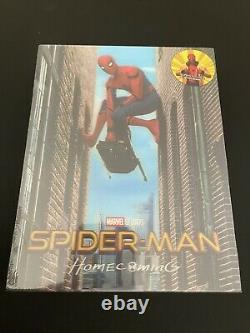 Spider-man Homecoming Blufans Single Lenticulaire 4k/3d Steelbook Brand New Sealed