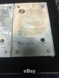 Star Wars Twenty Years Édition Spéciale Carte D'or Collection D'affiches # 5 1997