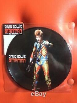 Starman De David Bowie Rsd 7 (vinyl, Apr-2012, Emi) Décachetée