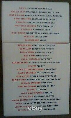 Stock Aitken Waterman Dire Que Je Suis Votre Numéro Un Le CD Singles Box Set (2015)
