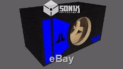 Subwoofer Porté Edition Spéciale Stage 2 Sub Subwoofer Jl Audio 12w7ae Bleu