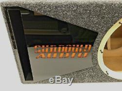 Sundown Audio Boîte De Caisson De Basses Sa-12v2 Édition Spéciale Porté Trim Port Plexi Noir