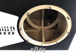 Sundown Audio X Sous-boîte Portée À 12 V. Special Edition Avec Garniture De Port En Plexi Blanc