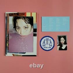 Sunmi Gashina 1ère Édition Spéciale Album Photobook CD Rare Article Photo Carte