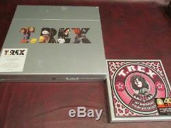 T-rex Studio 8 Albums 180 Gramme Box Set + Le 40e Anniversaire 5 Singles Box Set