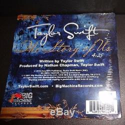 Taylor Swift Histoire De Nous CD Single Edition Limitée À Une Piste Et Numérotée Nouveau