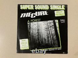 The Cure A Forest (special Long Version) Fiction Records 0930.022 Nr Menthe