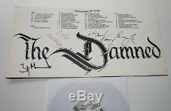 The Damned Ombre Of Love 1985 Uk Signe X 4 Gatefold 7 Simple 45 Impressionnant