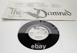 The Damned Shadow Of Love 1985 Royaume-uni Signé X 4 Gatefold 7 Single 45 Awesome