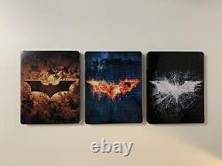 The Dark Knight Trilogy Hdzeta 4k Lenticule Unique Blu-ray Steelbook 404/1000