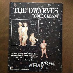 The White Stripes Ressorts Main Dirtbombs Cedar Point'76 Split 7 Vinyle Avec Mag
