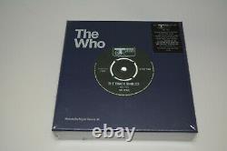The Who Track Célibataires 1967-73 7 Ensemble De Boîtes De Vinyle Scellé Mod Pete Townshend
